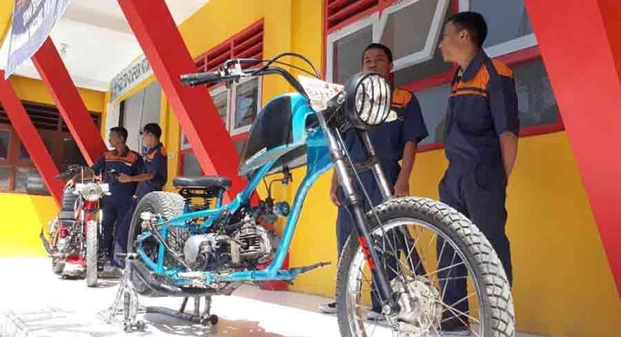 motor cooper dari limbah logam